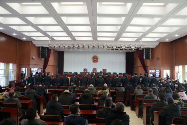 3公开开庭审理涉恶案件