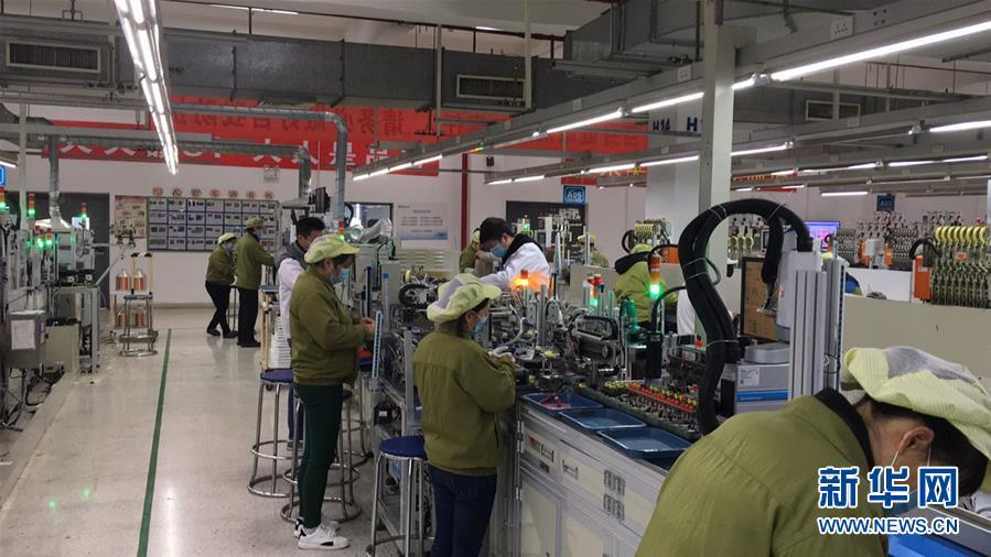 (来自经济前沿的故事·企业复工复产·图文互动)(3)看1500多名工人是如何复工的?——湖南郴州一家企业复工目击记